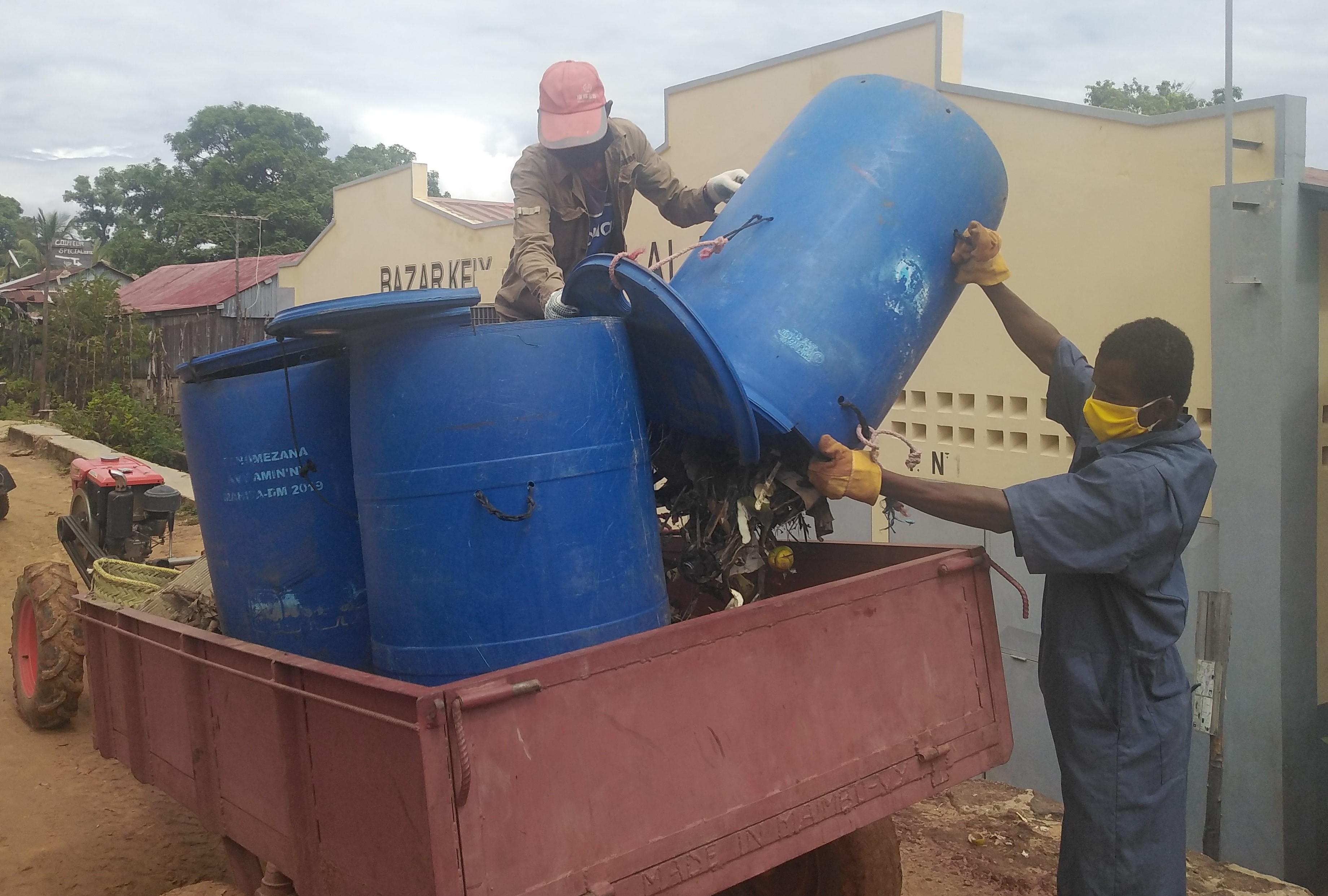 Amélioration de la gestion des déchets à...