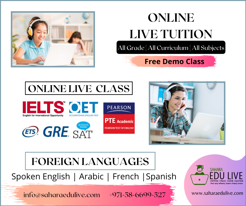 Online Tuition virtual tuition at saharaedulive