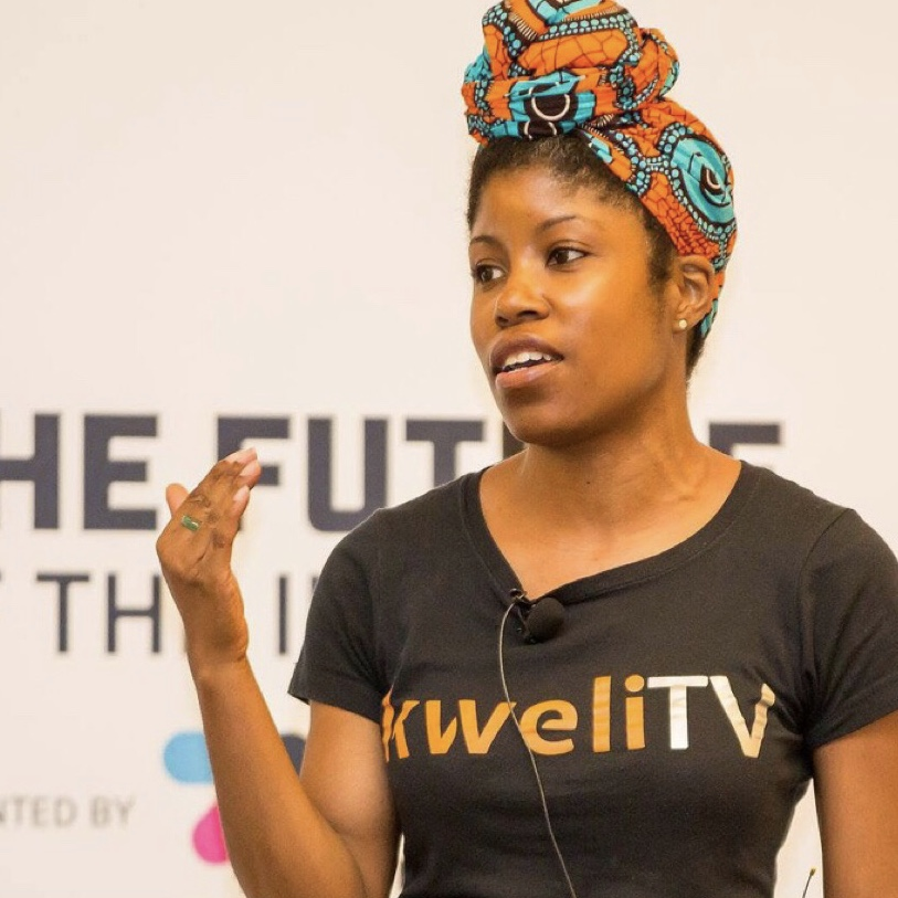 DeShuna Spencer, a multimedia storytelling, is the Founder & CEO of kweliTV. She's a former radio host and producer of emPower Hour, a show that examined social justice issues, on Washington, DC's 89.3 FM WPFW.